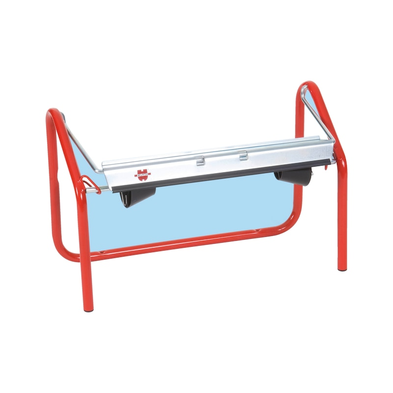Table-top roll holder - CLNPAPHOLD-METAL-TABLE-RED