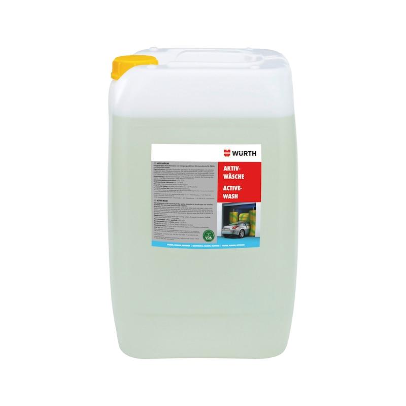Shampoo concentrado de limpeza para túneis de lavagem - SHAMPOO TUNEL LAVAGEM 25 LT