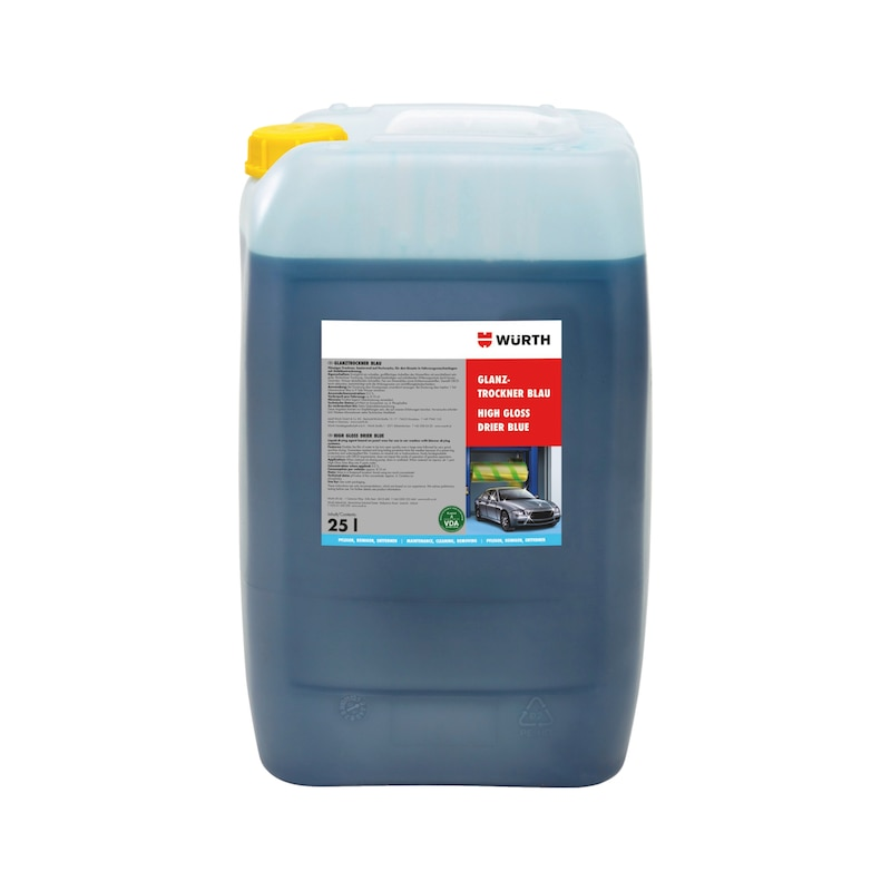 Glanztrockner Blau - 1