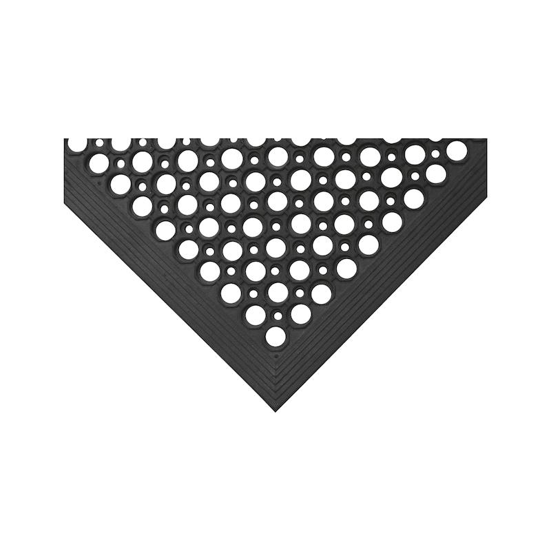 Tappetino antifatica, design perforato - 1