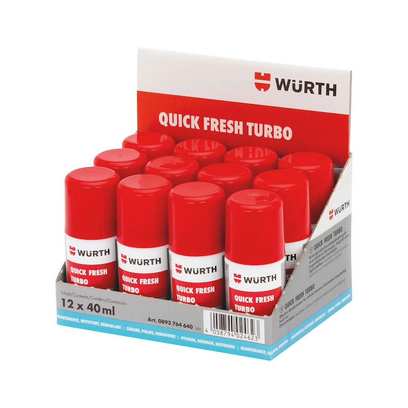 Geruchsentferner Quick Fresh Turbo - 1