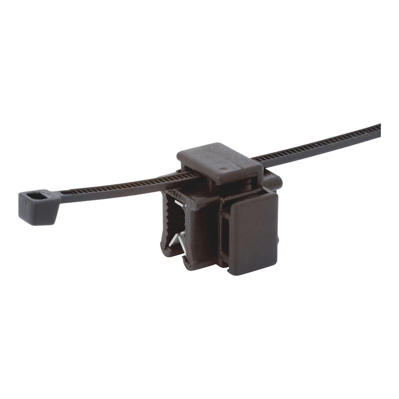 Kabelband-Kantenclip - 0