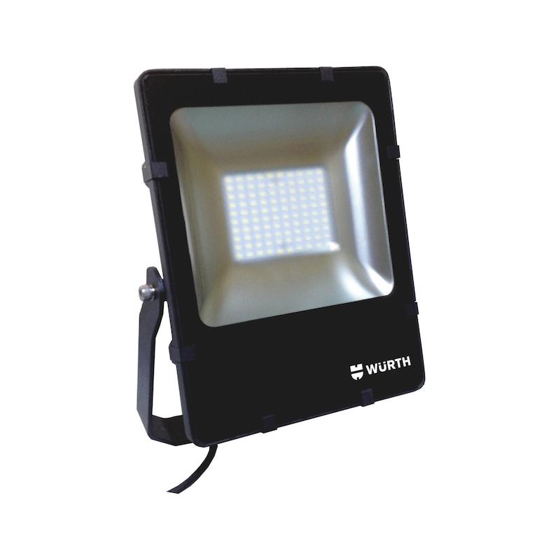 Foco de fachada LED com caixa estreita - PROJETOR LED FLOODLIGHT 55W 5700K