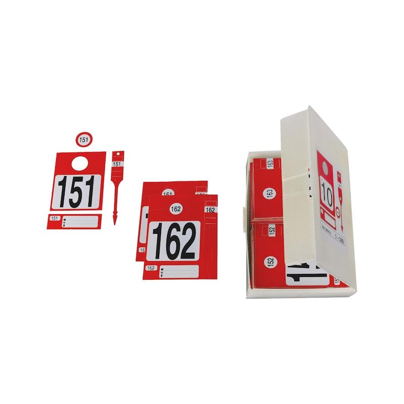 Boite de 300 kits d'identification - 1