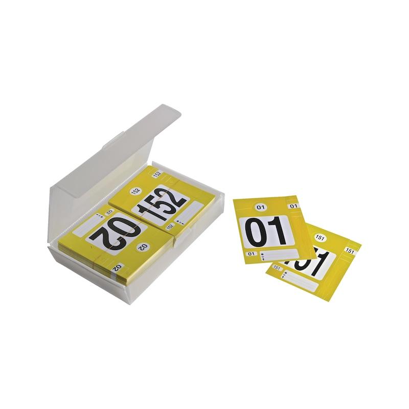 Boite de 300 kits d'identification - 2