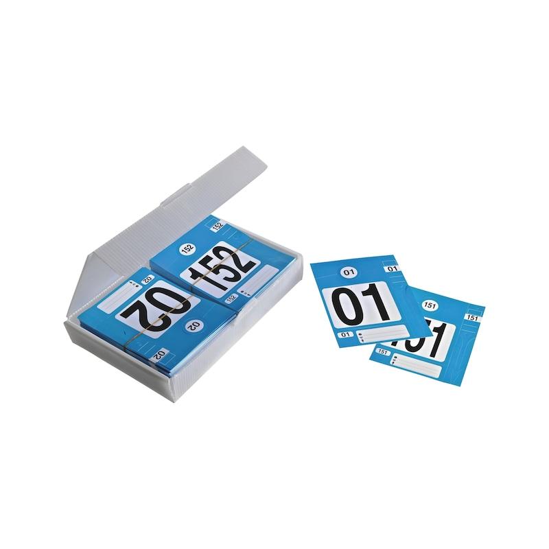 Boite de 300 kits d'identification - 3