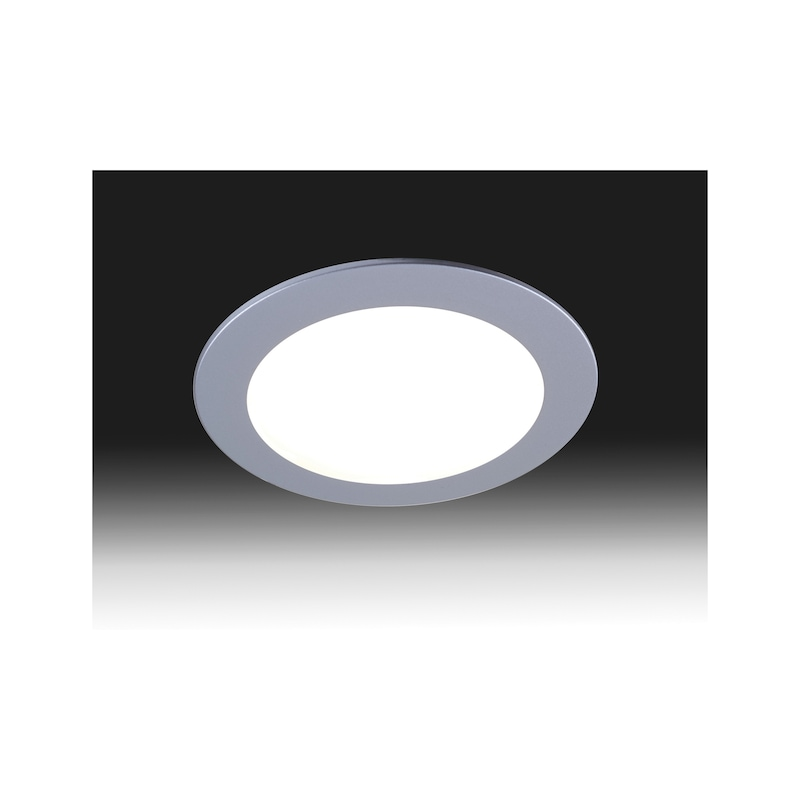 Spot LED ∅ 75 IP 44 encastré ou en applique - 2