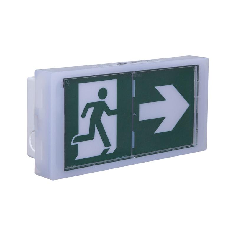 Bloc autonome d'éclairage de sécurité pour locaux sommeil BAEH+BAES WL3 LS LA