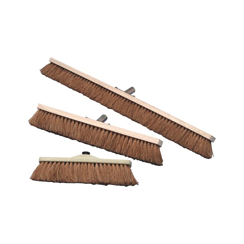 balai cantonnier fibre coco monture bois pour. Black Bedroom Furniture Sets. Home Design Ideas