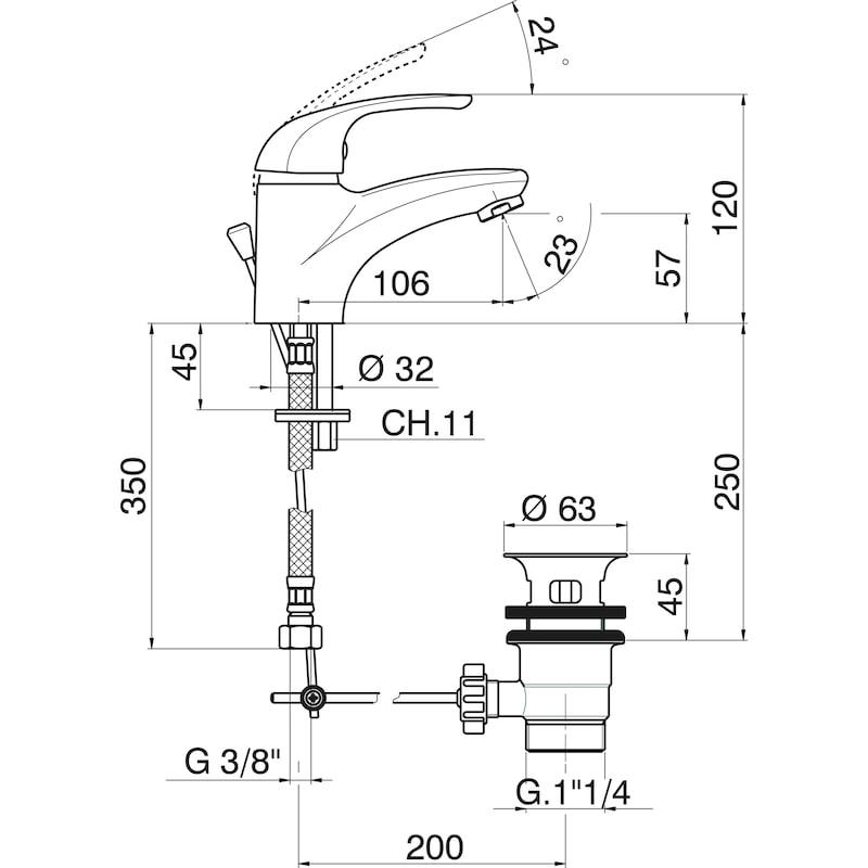 Mitigeur lavabo ARTEMIS - 2
