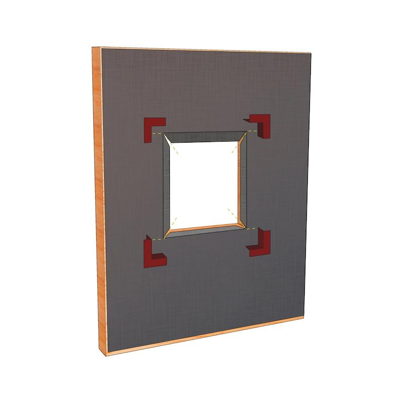 Angle souple préformé d'étanchéité - 5