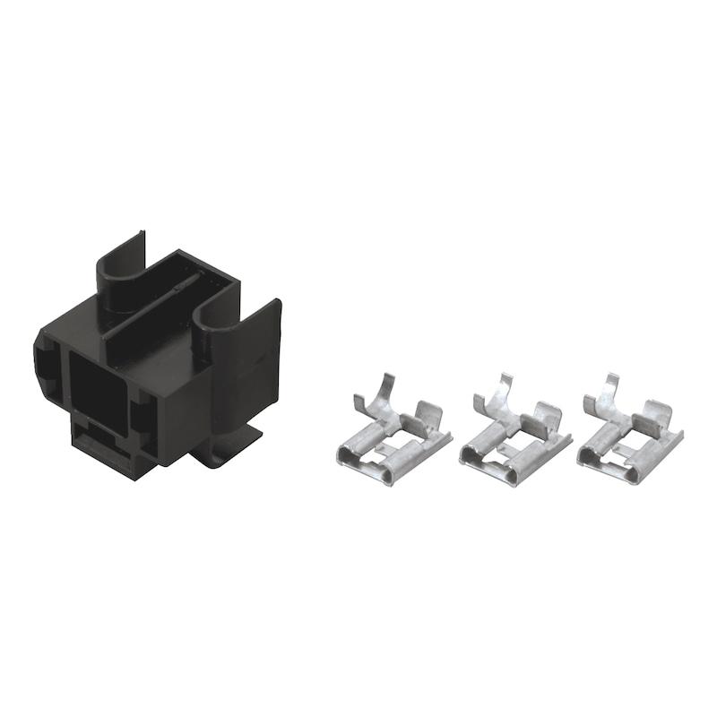 Boîtier de connexions avec cosses - 1
