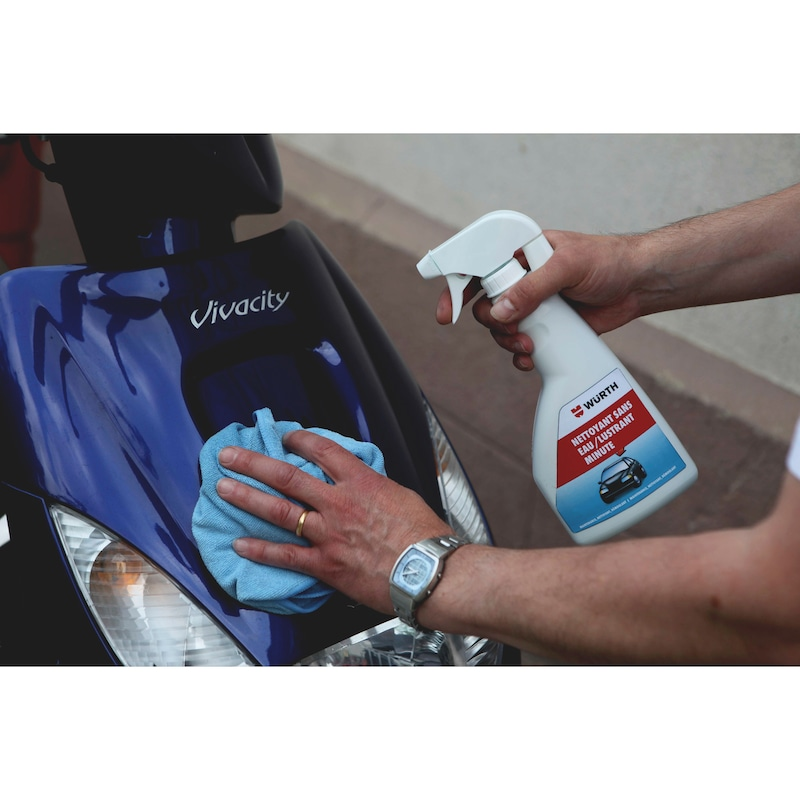 Nettoyant sans eau - lustrant minute - 2
