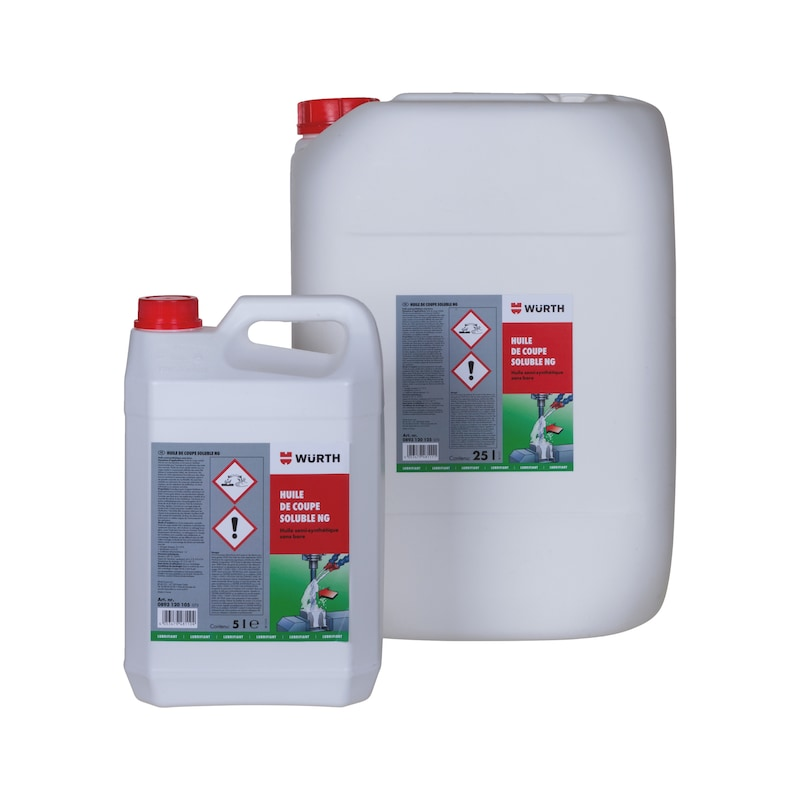 Huile de coupe soluble NG - HUILE DE COUPE SOLUBLE NG 25 LITRES