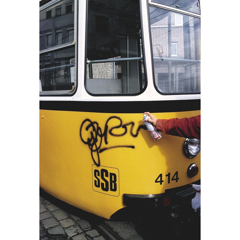 Efface graffitis - 3