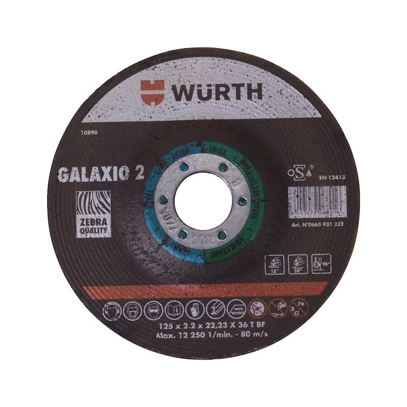 Disque mixte 2 en 1 GALAXIO 2 - 2