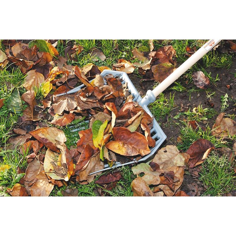 Fourche multi-usages - Balai à feuilles et gazon