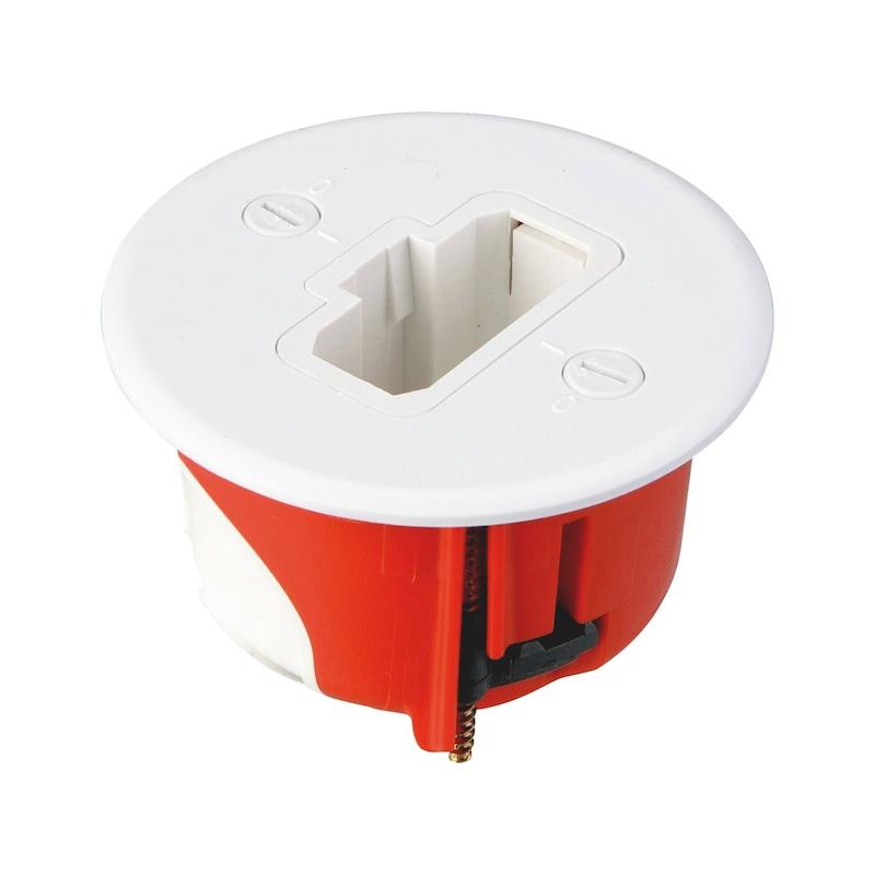 Boîte d'encastrement étanche à l'air applique DCL Ø54mm