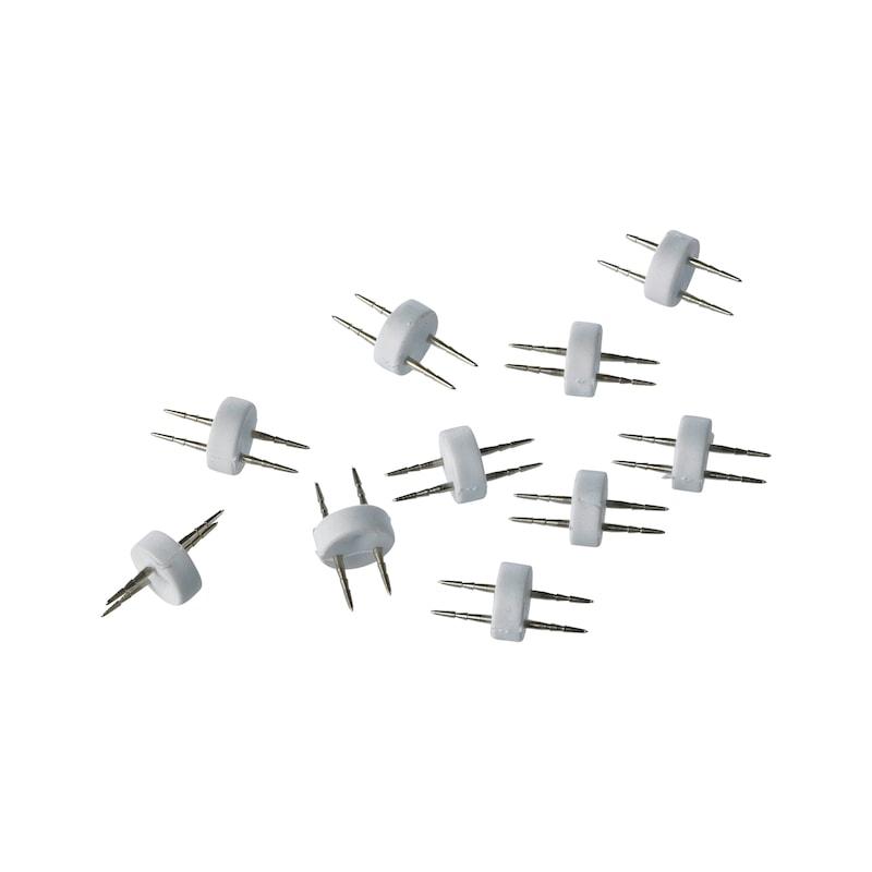 Connecteurs double picots