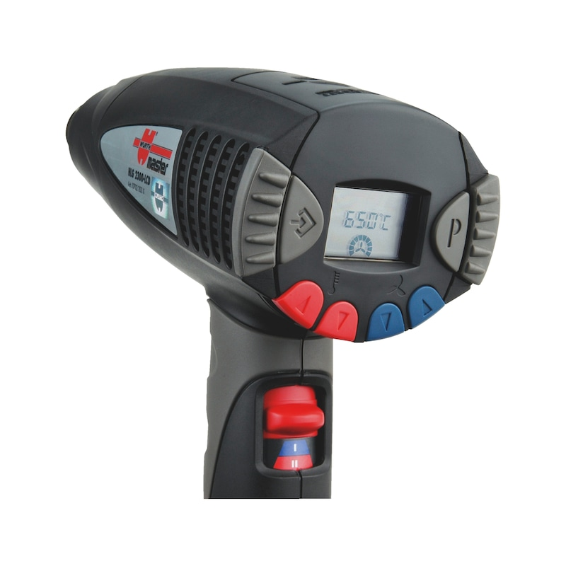 Electronic hot air blower HLG 2300 LCD - 3