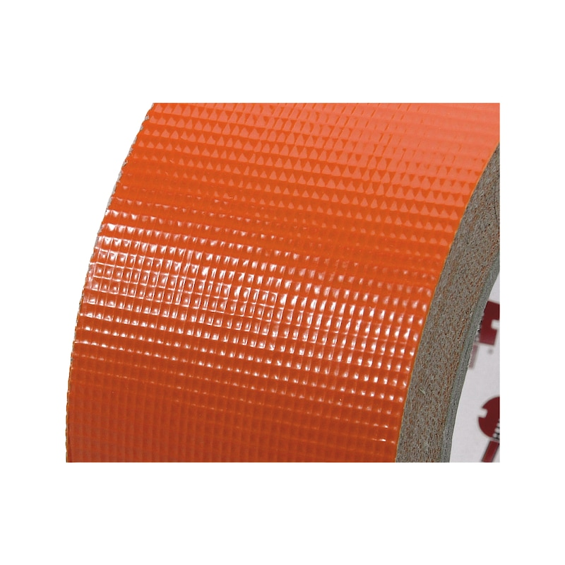 Ruban toilé orange bâtiment 50 m - 2