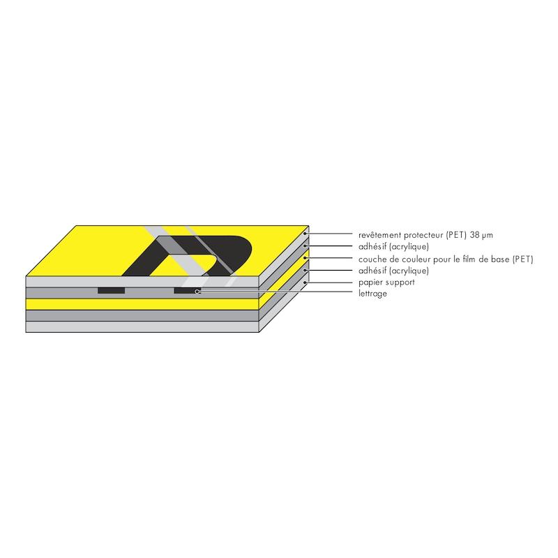 Cassette de ruban laminé pour W-Print - 2