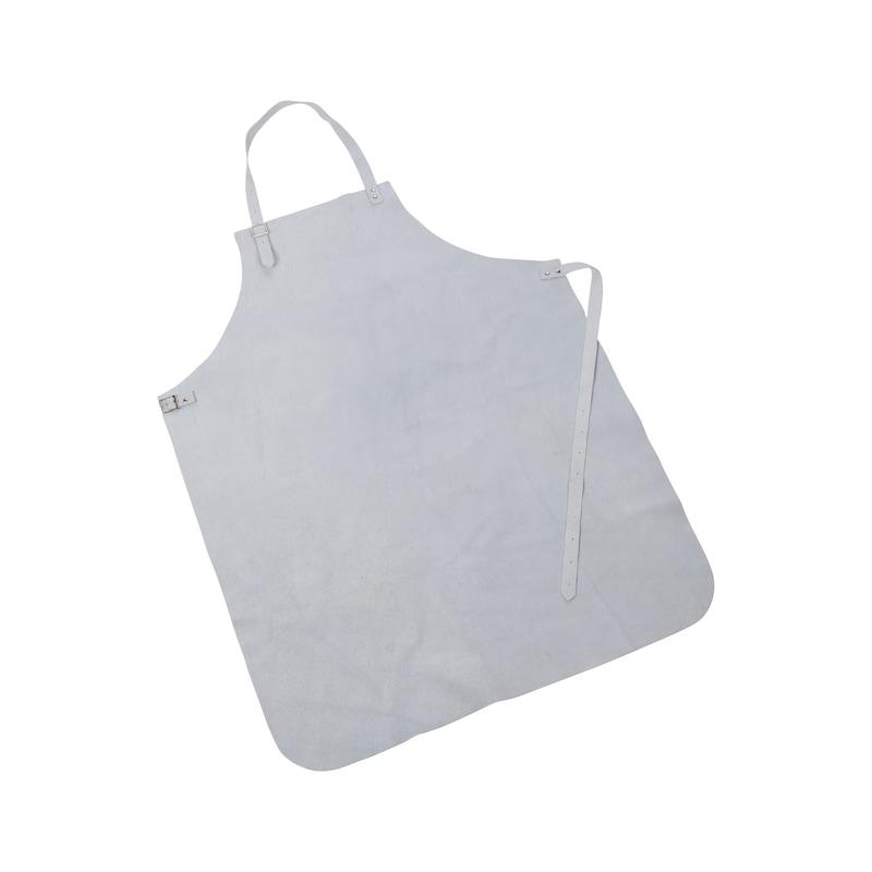 Tablier de soudeur cuir gris - 1