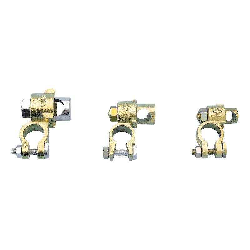 Collier de batterie double serrage - 1