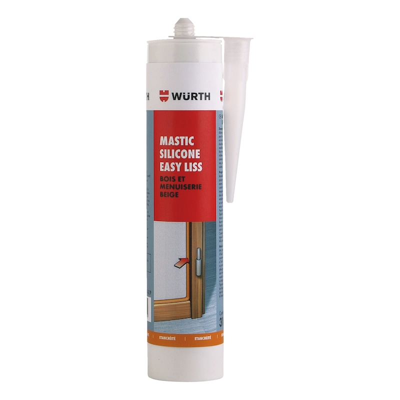 Mastic silicone Easy Liss Bois et menuiserie - 1