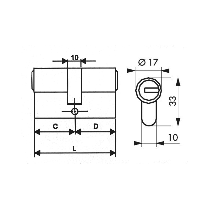 Cylindre de Sûreté PROTECT - 2