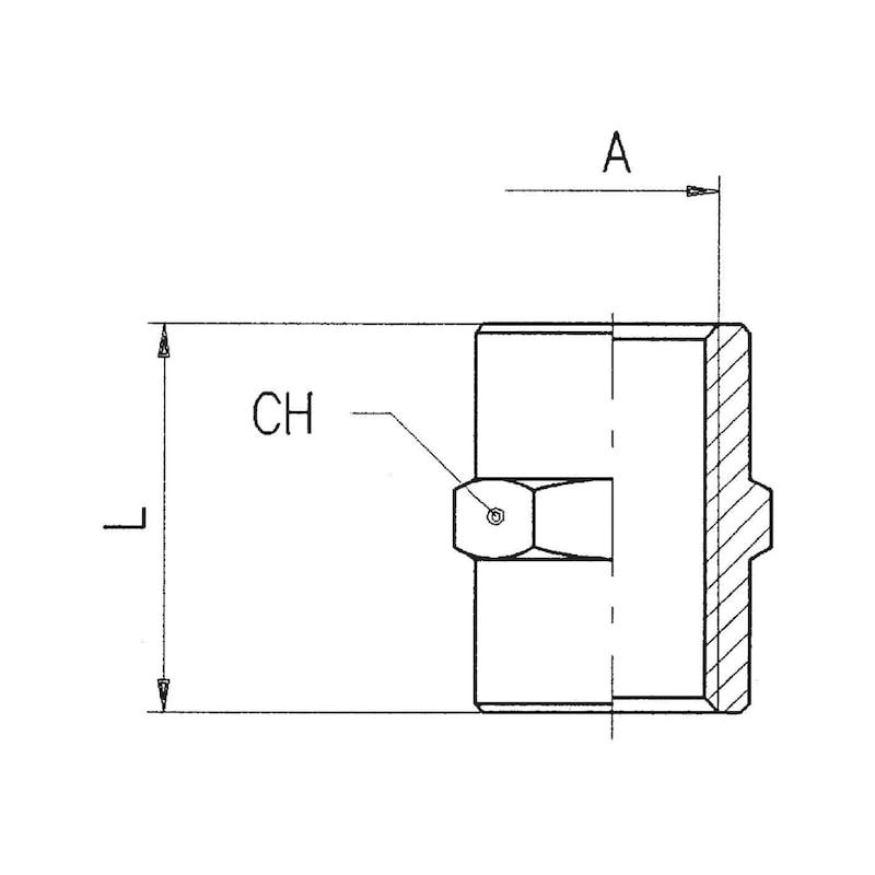 Manchon égal cylindrique - 2
