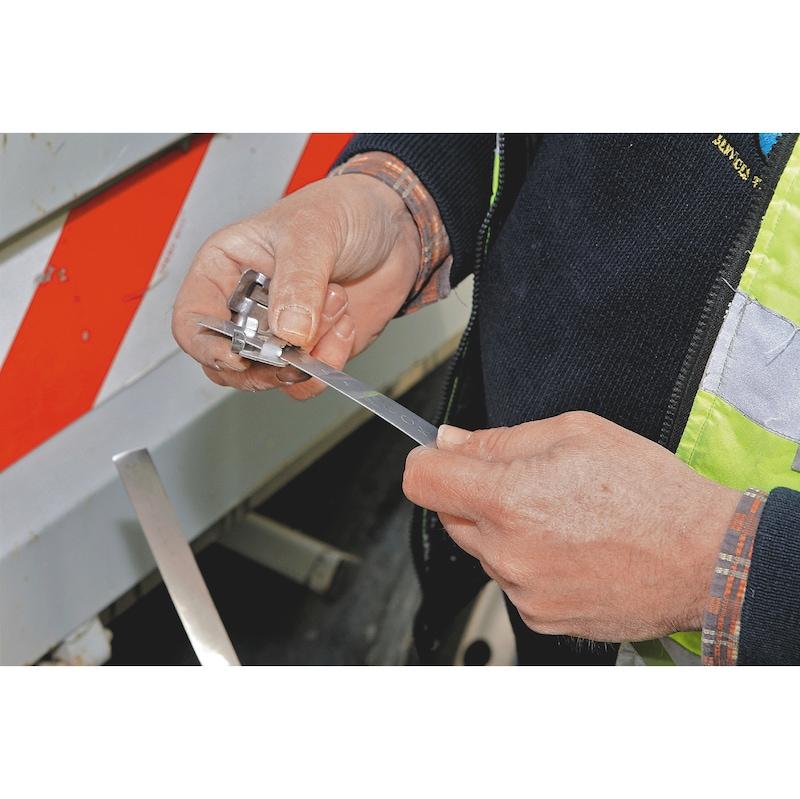 Feuillard Inox pour collier de serrage - 2