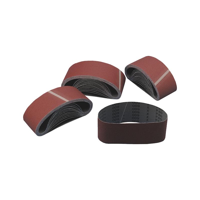 Bande abrasive toilée sans fin - BANDE ABRASIVE TOILE SF 100X610 P150