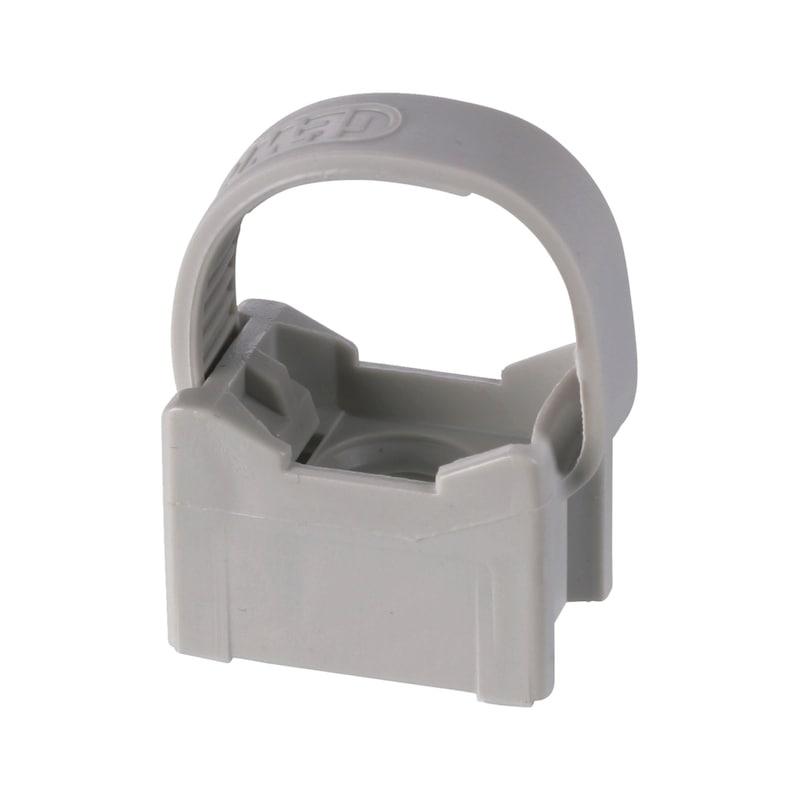 Fixe-tubes taraudé réouvrable Ø16-20mm - 1