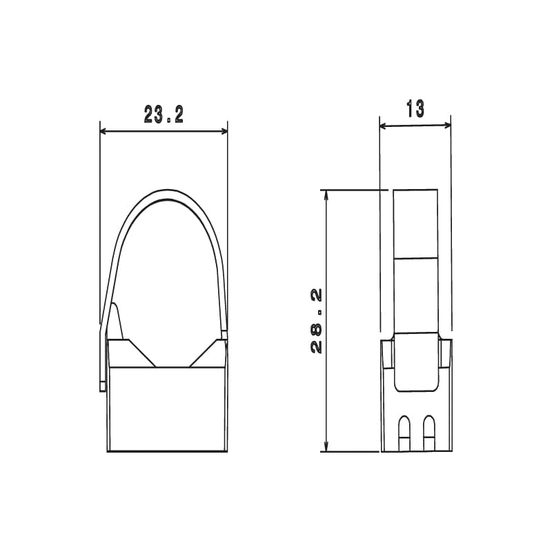 Fixe-tubes taraudé réouvrable Ø16-20mm - 2