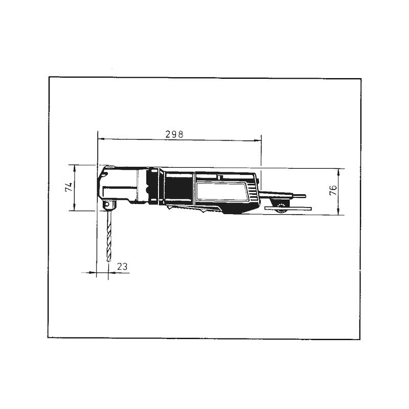 Winkelbohrmaschine WB 10-RLE - 2