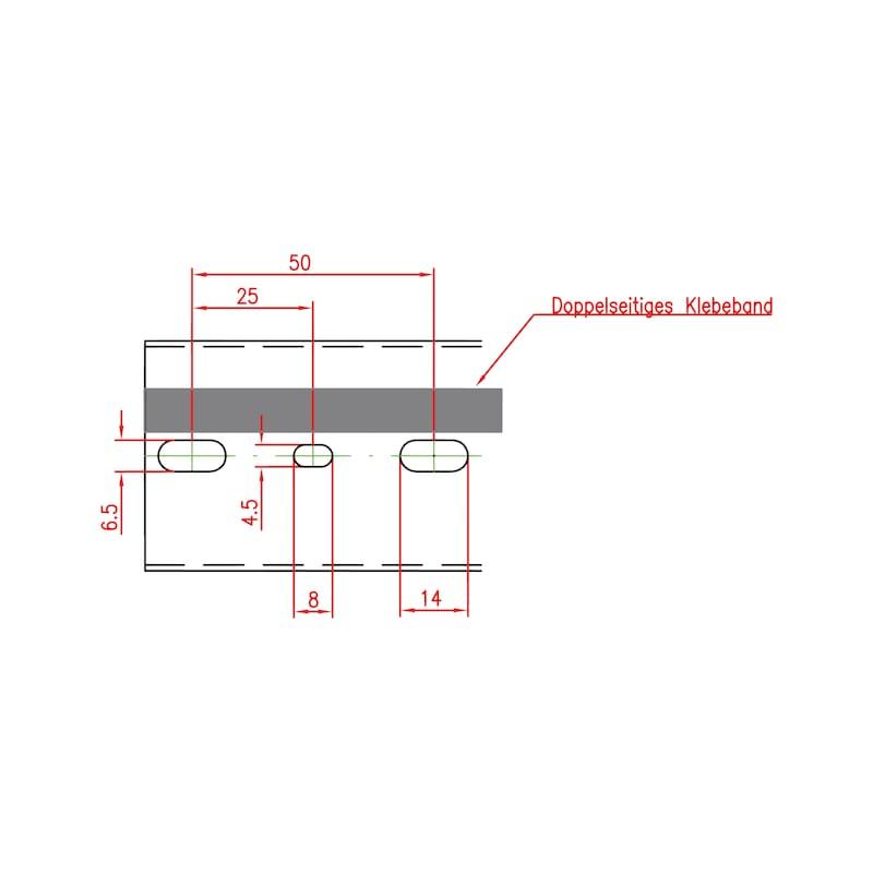 Verdrahtungskanal VKW DIN - 2