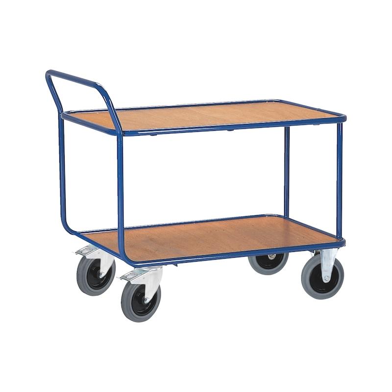 Tischwagen Stahlrohr bündige Ladefläche