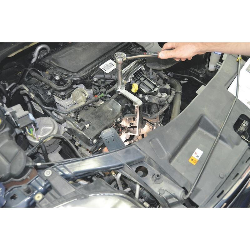 Ölfilterschlüssel Ratschenschlüssel Ringschlüssel f Ford Citroen Peugeot Jaguar