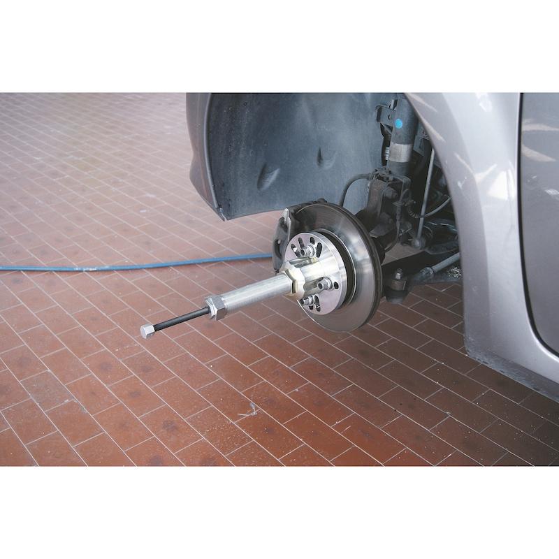 Afmonteringsværktøjssæt til hjulnav og trækaksel Universal - HJULFLANGEAFTRÆKKER