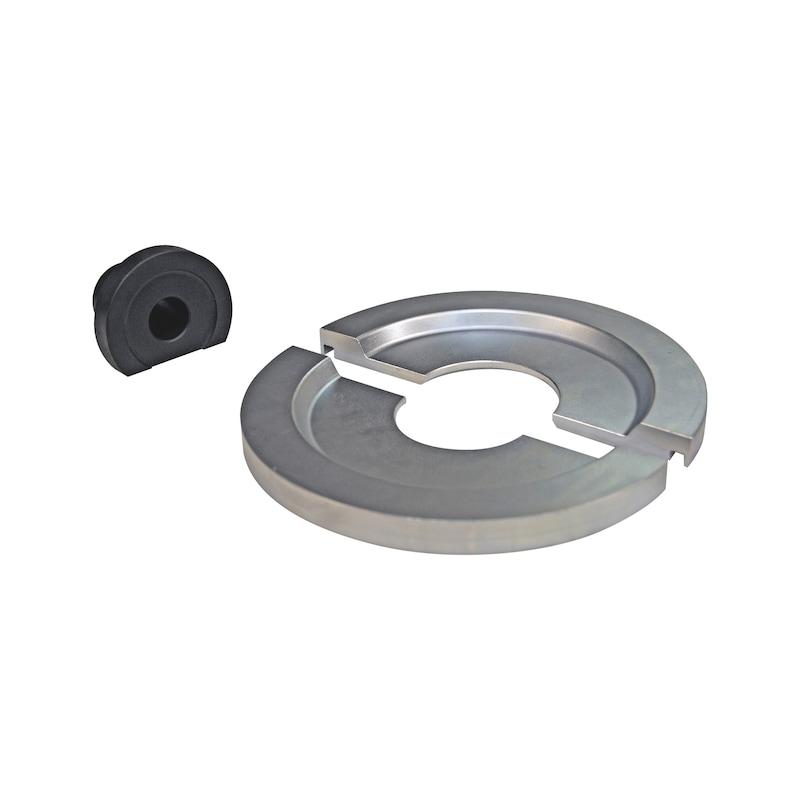 Kit de demi-coques, diamètre 62 mm Universel