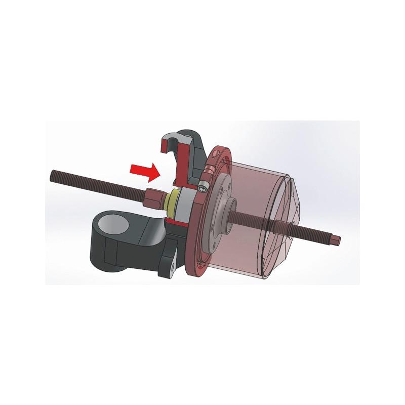 Kit d'outils de dépose de roulement de roue pour unités de moyeu de roulement compactes, mécanique Universel - 3