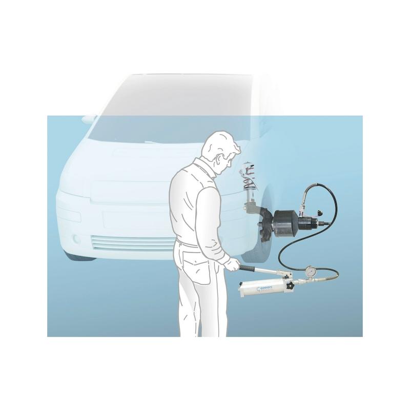 Kit d'outils de dépose de roulement de roue pour unités de moyeu de roulement compactes, mécanique Universel - 4