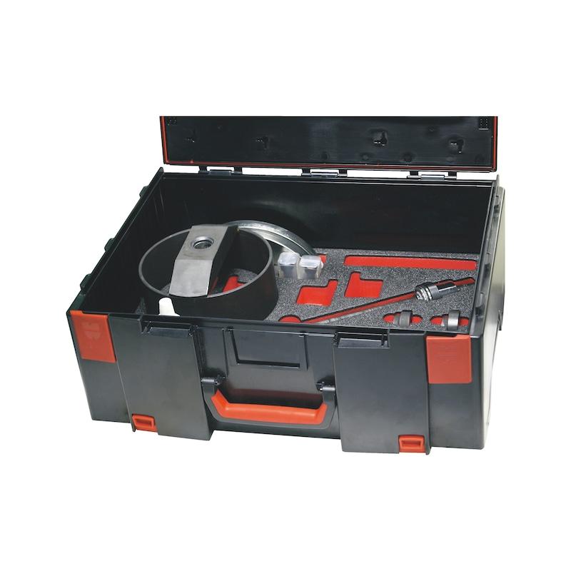 Kit d'outils de dépose de roulement de roue pour unités de moyeu de roulement compactes, mécanique Universel - 1