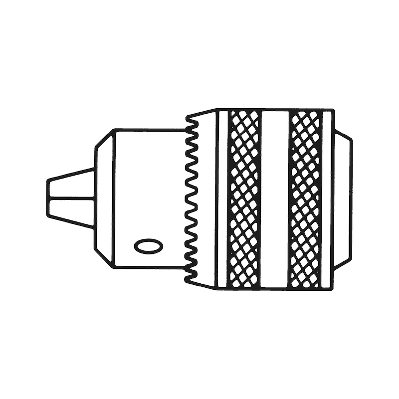 Zahnkranzbohrfutter - BOFTR-ZAKRNZ-SHSL-ZK-1/2ZO-13MM
