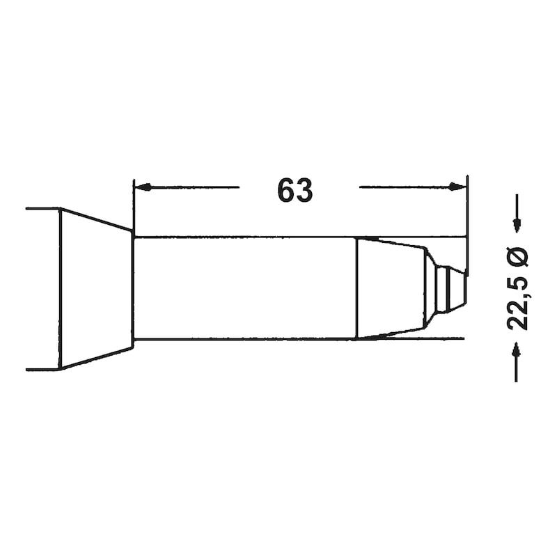 Pneumatic blind riveter PNG 122 - RVTR-PN-PNG122