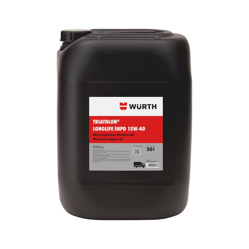 Motoröl TRIATHLON<SUP>®</SUP> Longlife SHPD 15W-40
