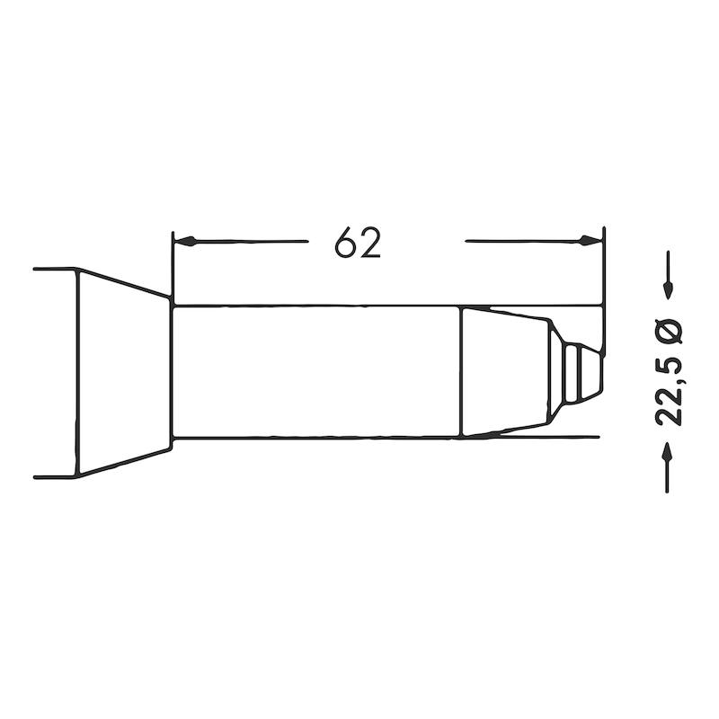 Trykluftblindnittepistol PNG 102 - LUFTBLINDNITTE PISTOL PGN102