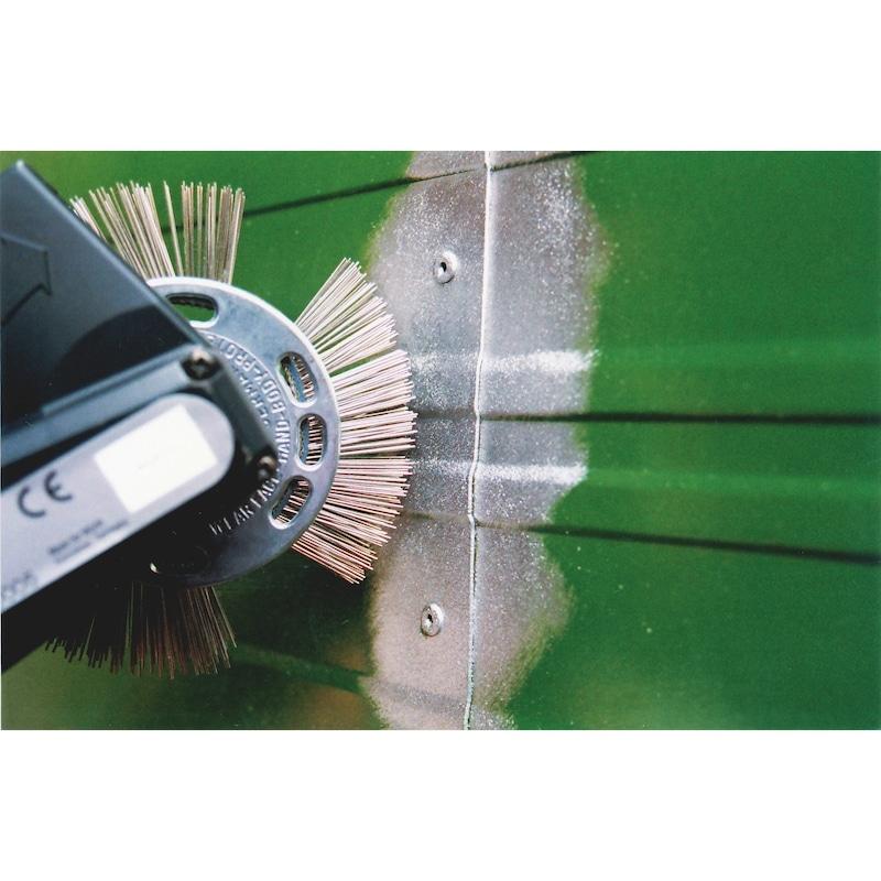 Brosse à fils métalliques, acier inoxydable - 2