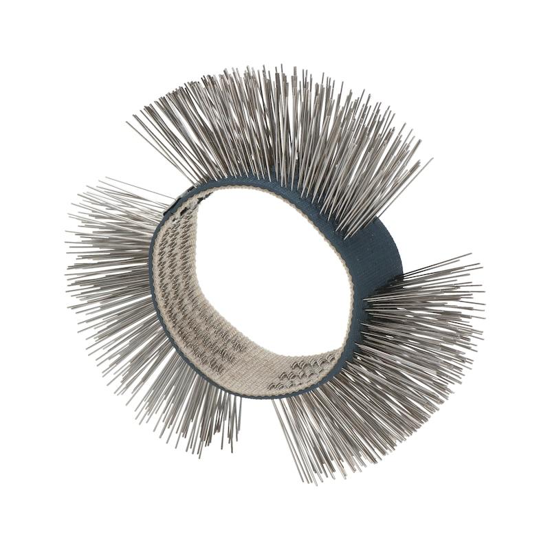Brosse à fils métalliques, acier inoxydable - 1
